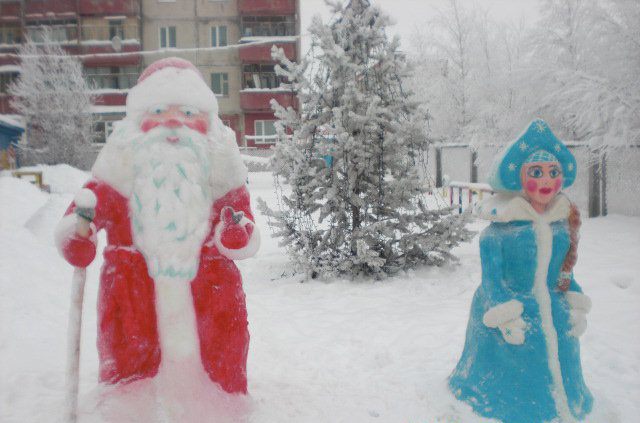 Снеговик снегурочка дед мороз своими руками